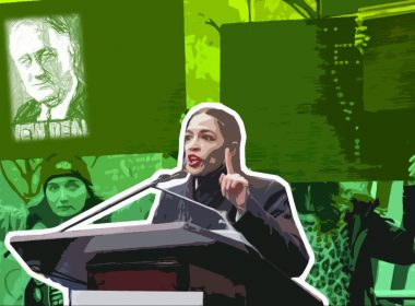 Alexandria Ocasio-Cortez, a key proponent of a New Green Deal