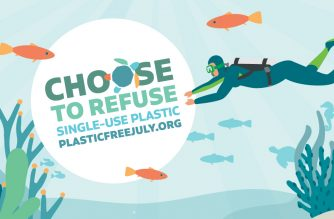 Plastic Free July - Choose to Refuse Single-Use Plastic
