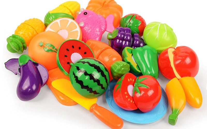plastic food